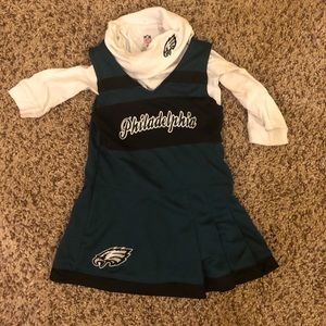 Official NFL Eagles cheerleading dress